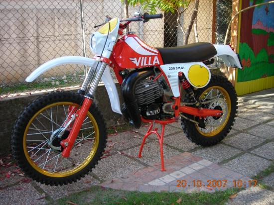 moto villa old cross 250 sm 81 cilindrata cc 250. Black Bedroom Furniture Sets. Home Design Ideas